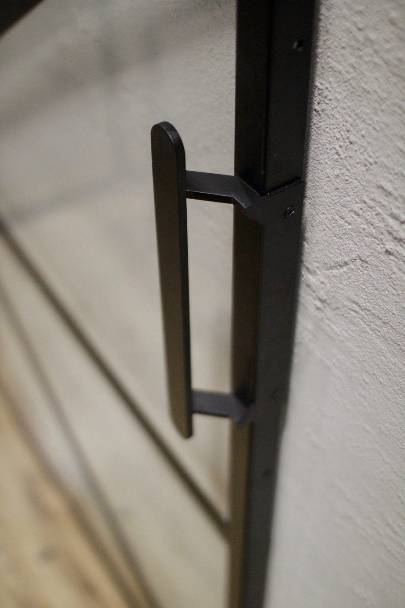 metalowe drzwi przesuwne ze szkłem Icon Concept standard