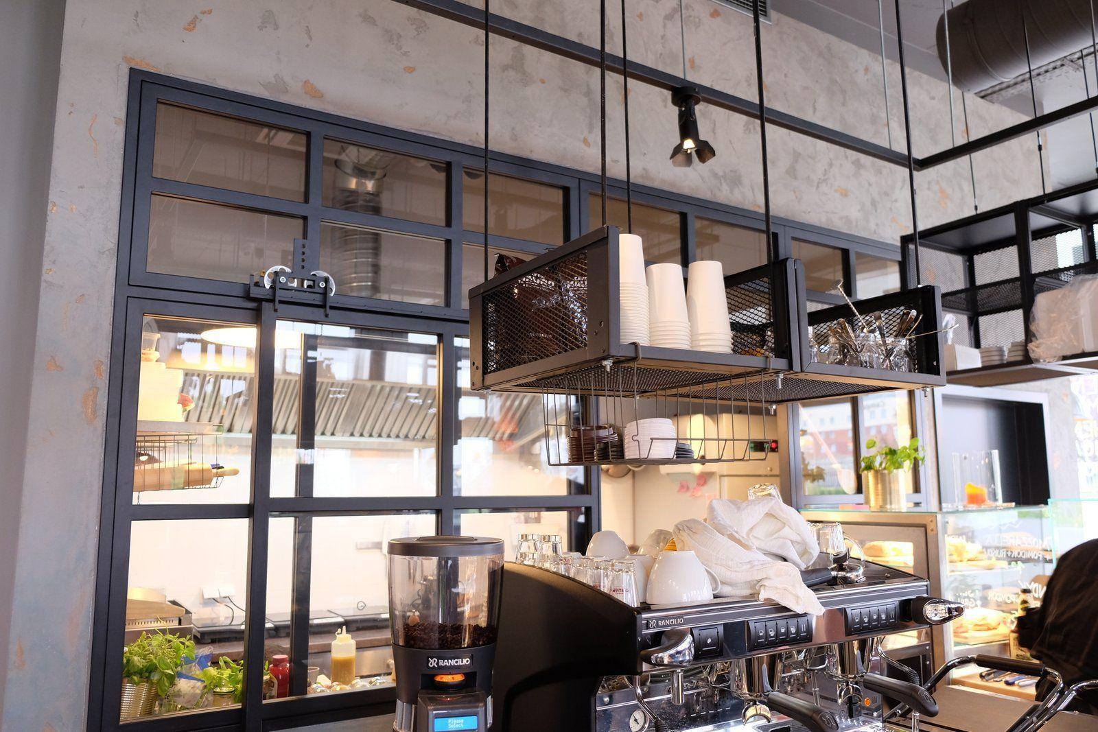 podwieszane kosze stalowe Icon Concept wyposażenie restauracji