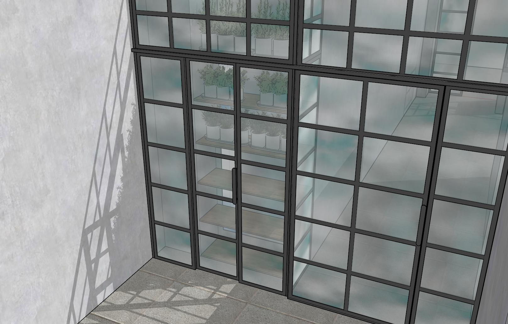 Szklane drzwi przesuIcon Concept, drzwi kute, drzwi metalowe, drzwi metalowe loftowe, drzwi wewnętrzne, wrocław, dolnośląskie, LOFT, drzwi loft, drzwi metalowe loft, kowalstwo, okna metalowe industrialne, witryny metalowe industrialnewne Icon Loft 6