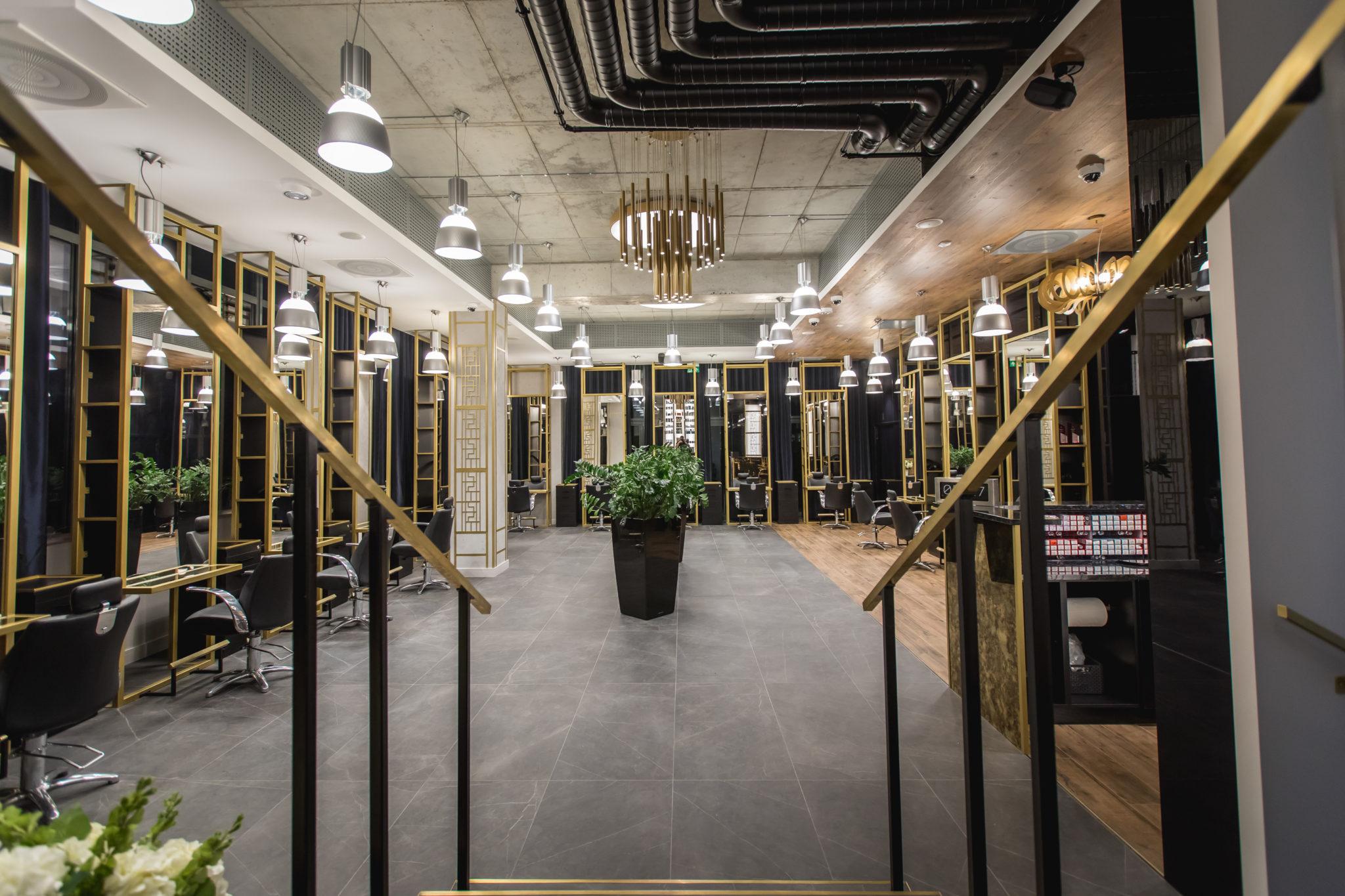fedoryszyn studio, wyposażenie salonu fryzjerskiego
