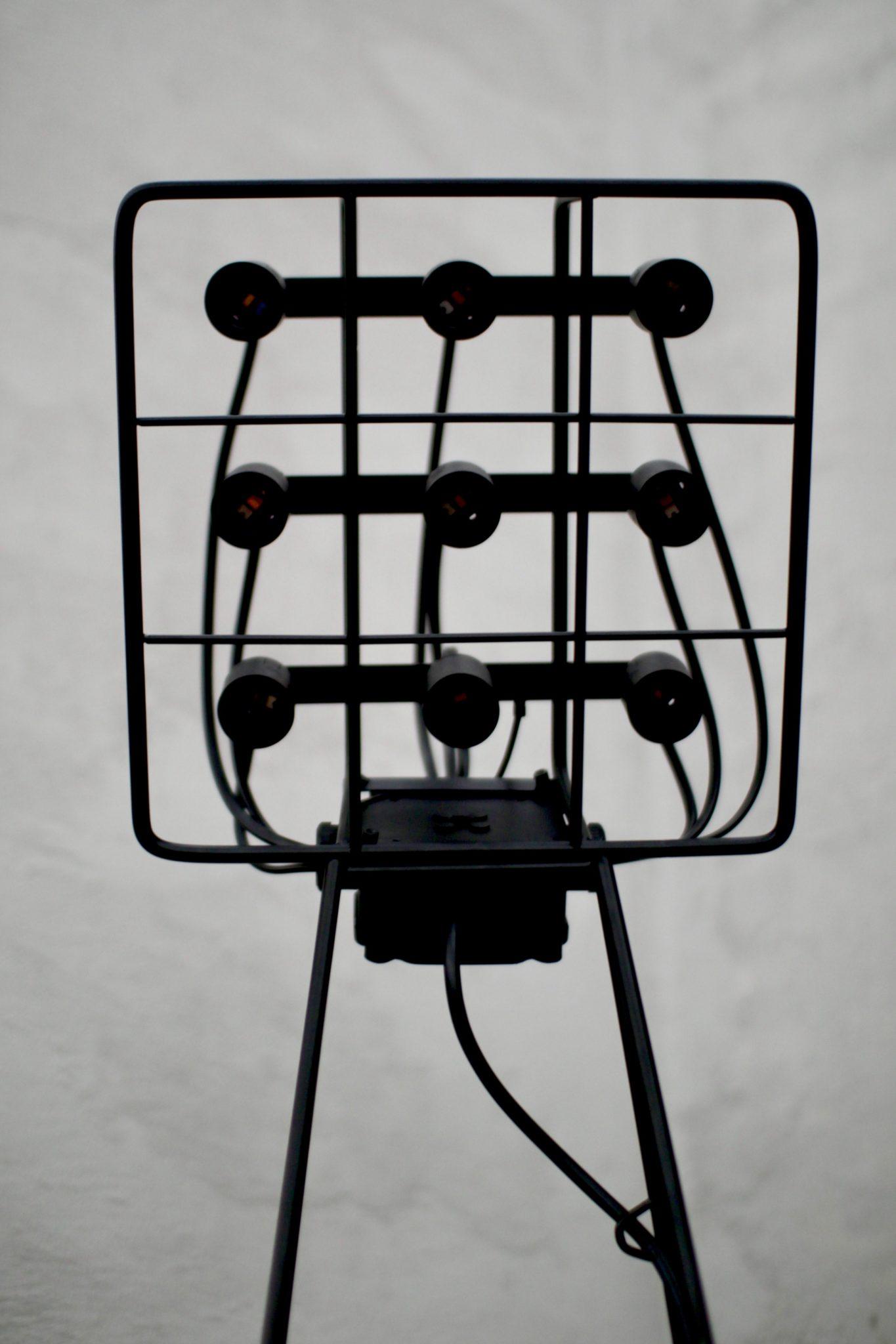 lampa industrialna Icon Grit, lampa metalowa, lampa przemysłowa, lampa loftowa, lampa podłogowwa