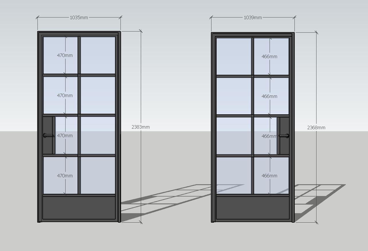 drzwi loftowe Icon Loft Icon Concept Design, drzwi industrialne