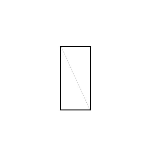 drzwi jednoskrzydłowe rozwierne