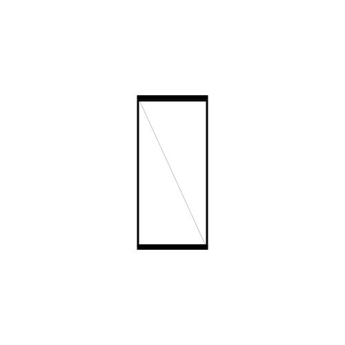 drzwi jednoskrzydłowe rozwierne pivot