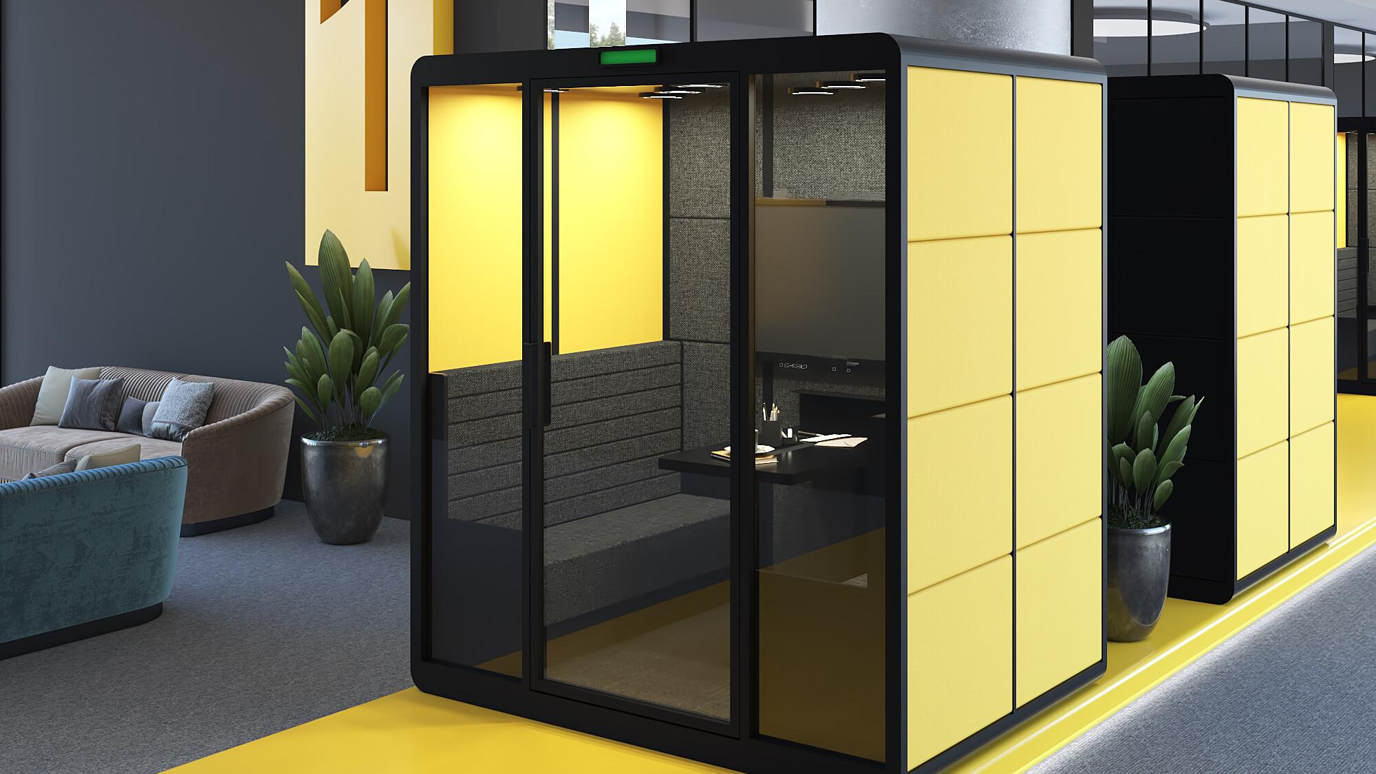 budka telefoniczna do biura Mindcab Icon Concept Design